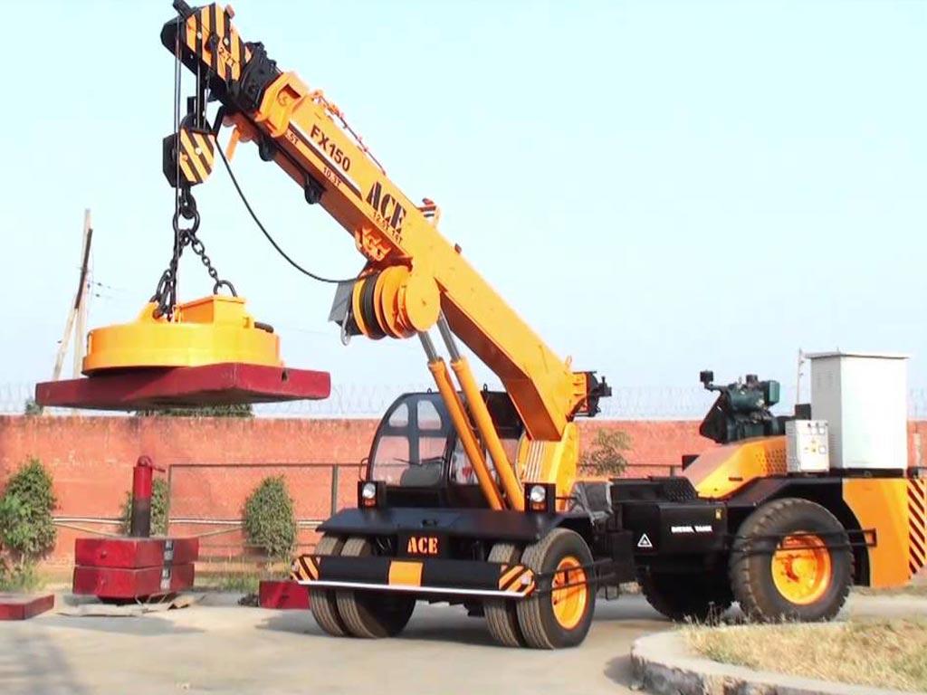 Pick Amp Carry Crane Jaiswal Construction